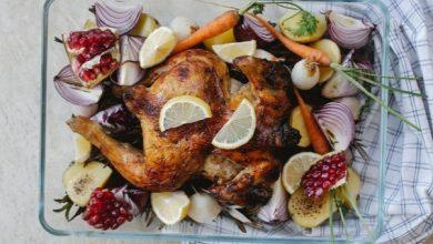 صورة طريقة عمل دجاج مشوي مع زبدة الاعشاب والحشو