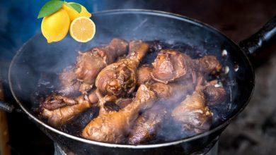 صورة طريقة عمل أفخاذ دجاج بالليمون اللزج وجوز الهند